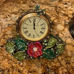 Jay Strongwater Mini clock